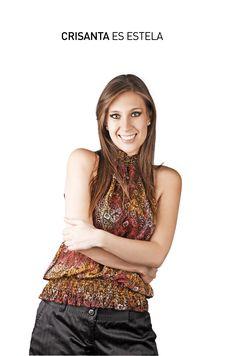 Ella es Crisanta Gómez e interpreta a Estela en Cheka tu Mail. ¡ESTRENO 14 DE AGOSTO!