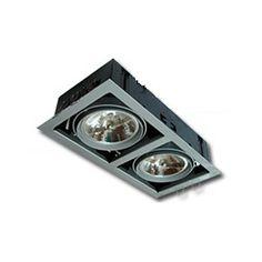 Spot encastrable GINGKO 2 blanc noir ou gris Spot de Qualité Pro