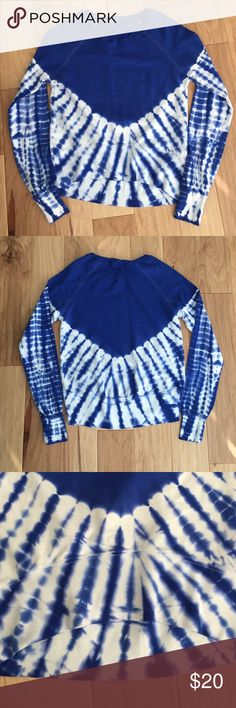 """Patrons if peace tie dye high low sweat shirt New without tags. No labels. 18.5"""" armpit to armpit. Length from back of neck to bottom measures 24"""" front measures 18.5"""" long. Lightweight material. Urban Outfitters Tops Sweatshirts & Hoodies"""
