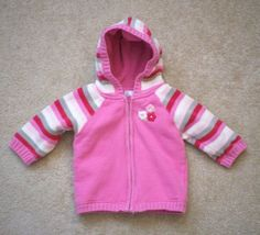 NWT Crazy 8 Girls Size 3T 5T Fleece Hearts Zip-Up Hoodie /& Pants 2-PC OUTFIT SET