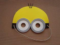 Mascaras De Minions En Goma Eva - $ 22,00