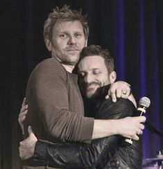 Aww it's a cute father and son photo