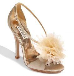 Badgley Mischka Kiwi Vanilla Sandals $159