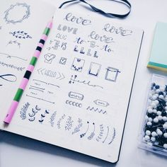 Bullet Journal Inspiration For a Pretty Planner
