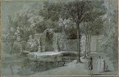 Jean-Baptiste Oudry, Vue d'un canal dans le parc d'Arcueil