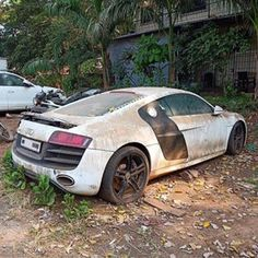LOSTMOTOR! (@lostmotor) • Instagram photos and videos Audi R8, Scrap Car, Abandoned, Photo And Video, Japanese, Cars, Instagram, Videos, Autos