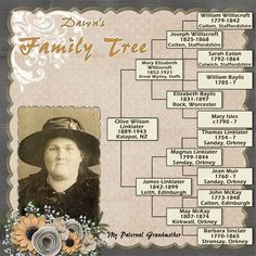 Family Tree Book Layout Simple 32+ Super Ideas