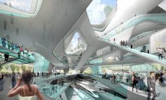 Penn Station Re-imagined by Diller Scofidio & Renfro