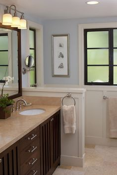 Portola Valley residence - traditional - bathroom - san francisco - Artistic Designs for Living, Tineke Triggs
