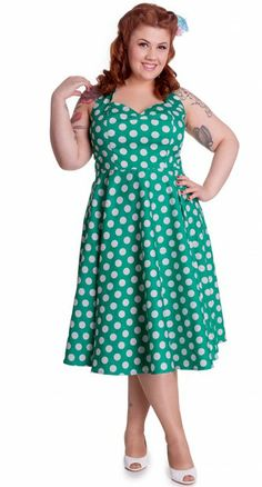 A pin up girl can never have too many fabulous swing dresses and the lovely…