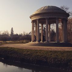 The #beautiful #temple of #love at #Versailles #palace. #France. Perfect for #valentines day.