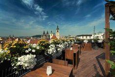 Prague Restaurants, Concrete Architecture, Miles To Go, Romanesque, Czech Republic, Old Town, Rooftop, Places To See, Trip Advisor