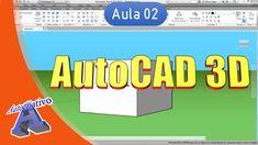 Curso de AutoCAD 3D - Aula 02 - Interface e Primeiros - Autocriativo