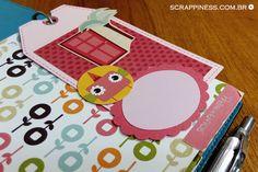 Tags personalizadas | Papéis Filipaper | Scrapbook | Planner | Scrappiness Designs