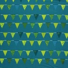 Child Fabric – Flags Petrol