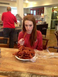 Must. Eat. Bacon. @Joseph List