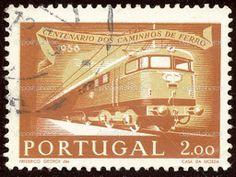 postage stamps from portugal | Portuguese postage stamp — Stock Photo © Antonio Ribeiro #1850683