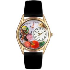 Whimsical Womens Moms Kitchen Black Leather Watch by Whimsical Watches. $44.95. Who cooks better than mom? Well maybe grandmom but we\'re not telling! This Mom\'s Kitchen Silver Gift watch is a special celebration of her culinary expertise and how much you appreciate your efforts in the kitchen.. Save 53%!