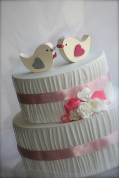 Hey, I found this really awesome Etsy listing at http://www.etsy.com/listing/102755144/wedding-cake-topper-love-birds