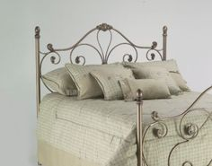 Amazon.com - Fashion Bed Group Aynsley Queen-Size Steel Headboard/Footboard, Majestique