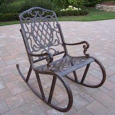 Best Of Metal Spring Rocking Chair