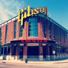 Take a tour, buy an awesome guitar then visit the Gibson Lounge to hear some great music.