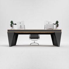OS1 executive desk by ODESD2. Designer: Svyatoslav Zbroy.