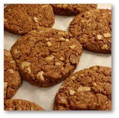 Foodie Mum: Spelt & Soya Walnut Cookies