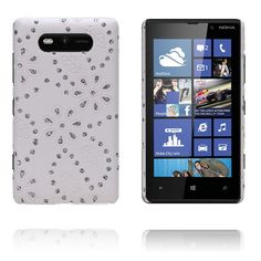 Firenze (Hvit) Nokia Lumia 820 Deksel Sony, Samsung, Iphone, Sam Son