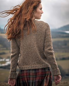 Ravelry: Mirehouse pattern by Fiona Alice Knitting Patterns Free, Free Knitting, Sweater Patterns, Knit Patterns, British Style, British Country, Pullover, Pretty Dresses, Tartan