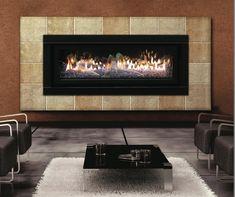 Mendota Modern direct vent gas fireplace insert | Fireplaces ...