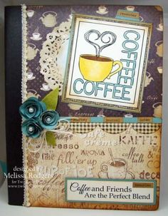 Summer Coffee Lovers Blog Hop!! - Two Paper Divas