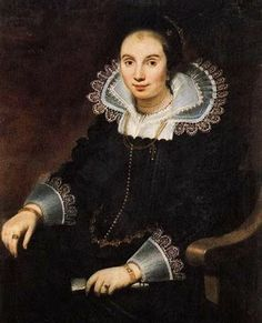 Cornelis de Vos (Flemish Baroque painter, 1584-1651), neck ruff and lace cuff