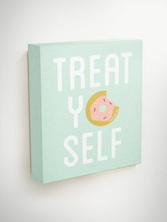 Treat Yo Self Canvas Parks And Recreation Kitchen by BlessedType
