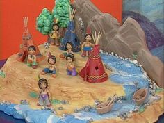 Manualidades y Artesanías | Indios - Maqueta | FOXlife.tv