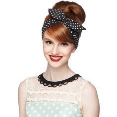 Pinup Through the Wire Headband