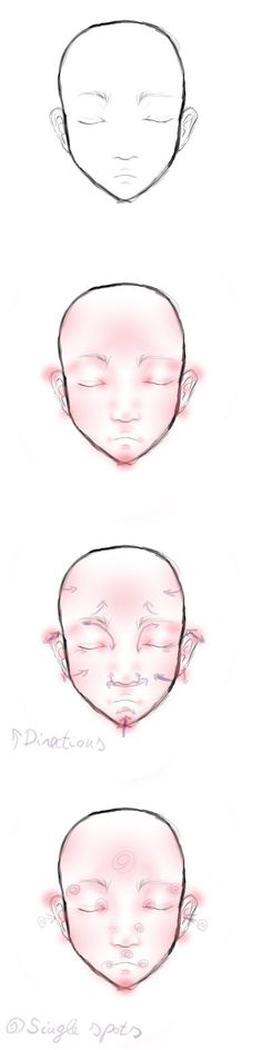 Face Blushing Tutorial by NiuKy.deviantart.com on @deviantART