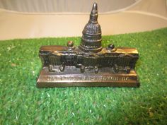 US Capitol Building Washington DC Miniature Metal Souvenir #kitschy