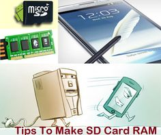 How Use Your SD Card As RAM To Speed Up Your Smartphone