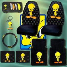 Shopzilla - Tweety Bird Car Accessories Automotive Accessories