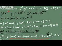 Ecuación de cauchy – Euler (combinación de casos)