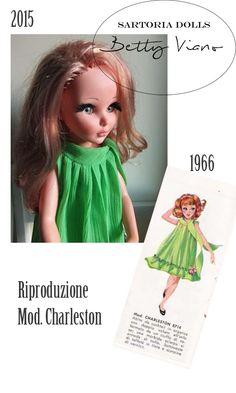 Dal Catalogo Furga 1966 al 2015 - Riproduzione della Sartoria Betty Viano Dai un'occhiata!