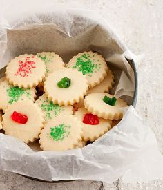 Dad's Christmas Shortbread Cookies | Seasons and Suppers