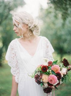 Rue De Seine wedding gown | Olive Grove Shoot by Jen Huang