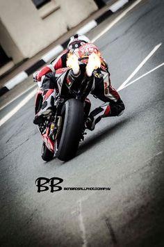 Shot from Steve Babb - Isle of Man TT