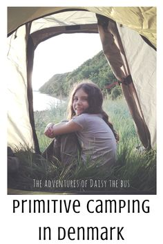 Primitive camping in Denmark is a brilliant and easy way of getting close to nature.