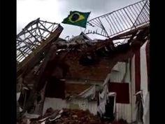 Disso Voce Sabia?: BANDEIRA DO BRASIL É HASTEADA EM ÁREA SEPARATISTA DA UCRÂNIA. VEJA O VÍDEO!