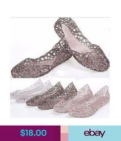 Elegance Glaze Jelly Ballet Flat Casual Shoes Soft Mellisa Rubber Beach  Shoes  ebay  Fashion 6c1b6d3e789