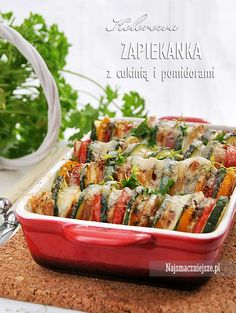 Green Beans, Potato Salad, Casserole, Zucchini, Cooking Recipes, Potatoes, Vegetables, Ethnic Recipes, Impreza