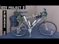 A Bug Out Survival Bicycle is a great option to have at your dispense... | Survival
